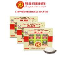 10 hộp yến sào Thiên Hoàng 18% - Tặng 1 máy xay thịt Smart Glass Electric Materializer 200W