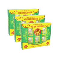 10 Hộp yến sào Thiên Hoàng 15% Hương Lá Dứa (6 lọ/hộp) - Tặng 2 hộp yến sào Thiên Hoàng 12% + 1 nồi lẩu mini 2 tầng 18cm + 6 lon yến (vị ngẫu nhiên)