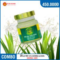 25 lọ yến sào Thiên Hoàng 15% hương lá dứa