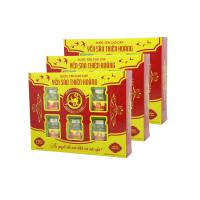 10 Hộp yến sào Thiên Hoàng 15% Hương trái cây (6 lọ/hộp) - Tặng 2 hộp yến sào Thiên Hoàng 12% + 1 nồi lẩu mini 2 tầng 18cm + 6 lon yến (vị ngẫu nhiên)