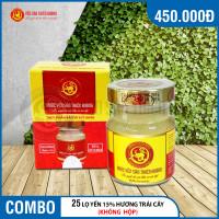 25 lọ yến sào Thiên Hoàng 15% hương trái cây