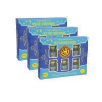 10 Hộp yến sào Thiên Hoàng 15% Hương Vani (6 lọ/hộp) - Tặng 2 hộp yến sào Thiên Hoàng 12% + 1 nồi lẩu mini 2 tầng 18cm + 6 lon yến (vị ngẫu nhiên)